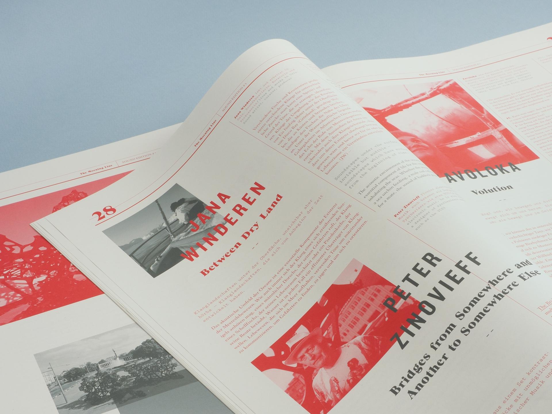 Grafikum The Morning Line Magazine
