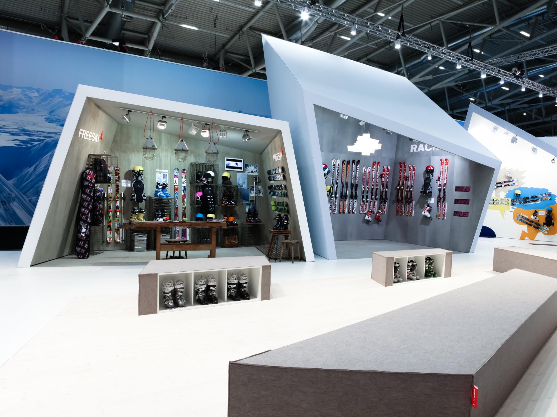 Grafikum Atomic ISPO Booth