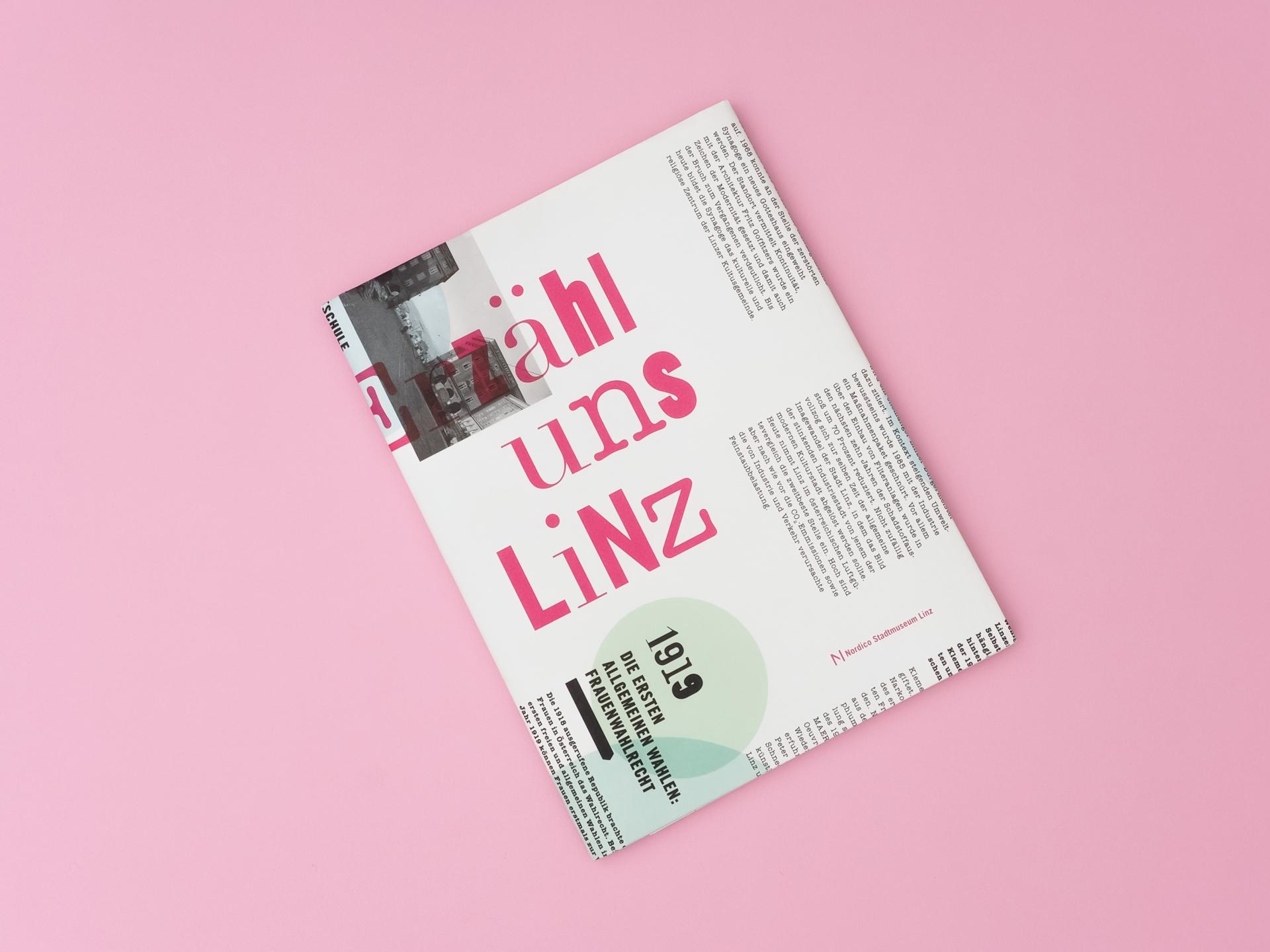 Grafikum Erhält uns Linz Geschichtenheft