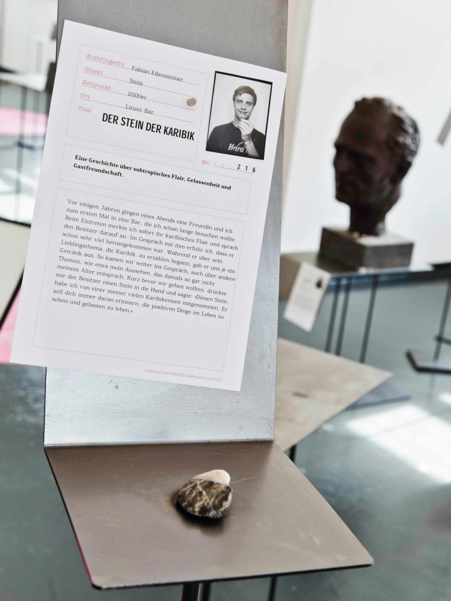 Grafikum Erzähl uns Linz exhibition